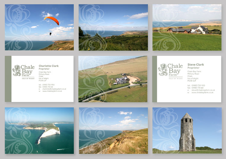 Chale Bay Farm Business Cards