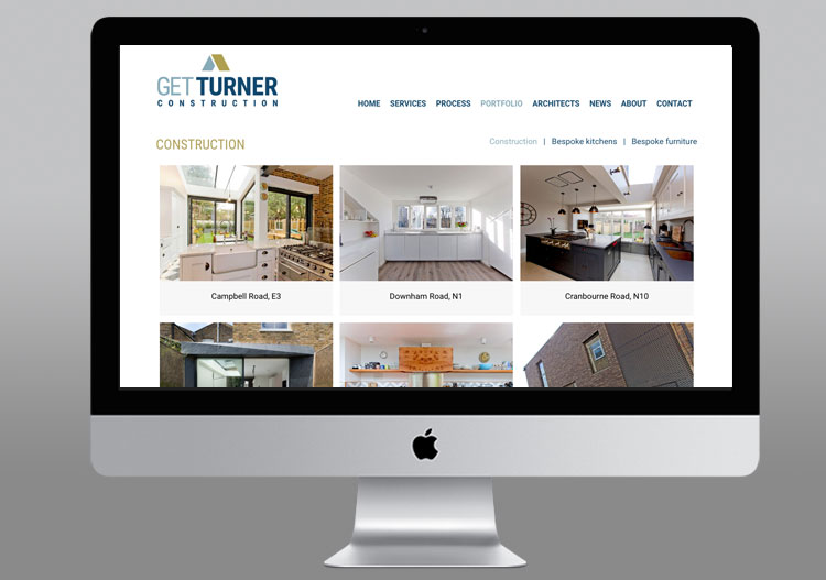Get Turner website